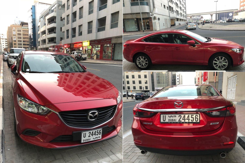 Mazda 6 2018 Red