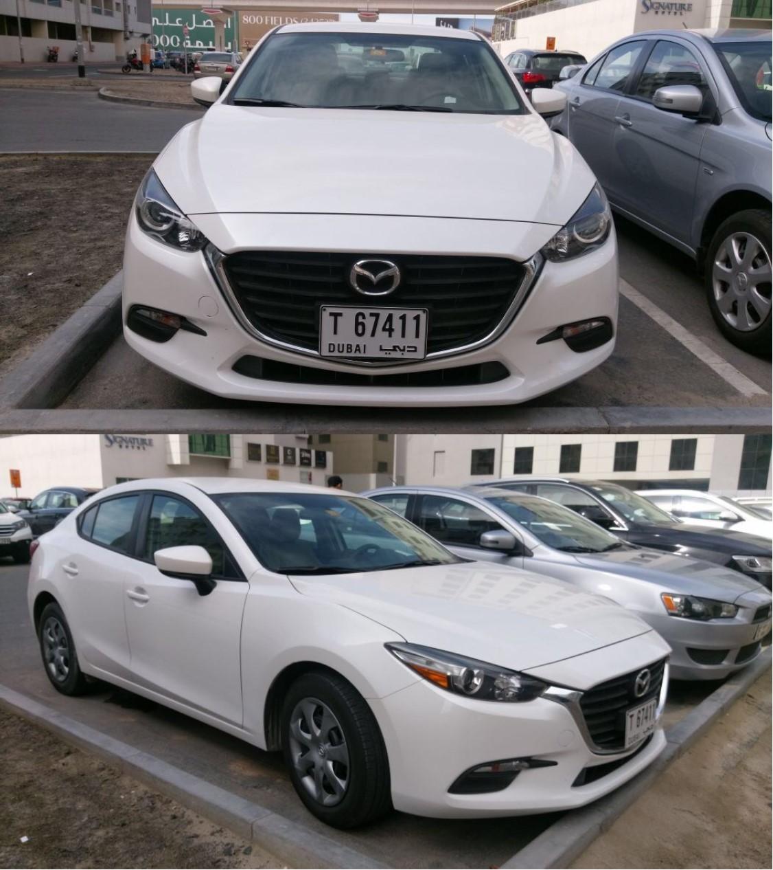 Mazda 3 2017 white