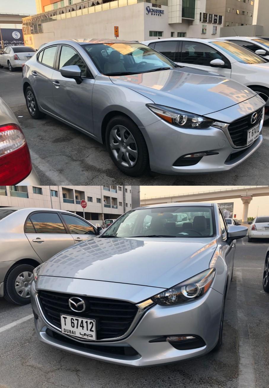 Mazda 3 2017 silver
